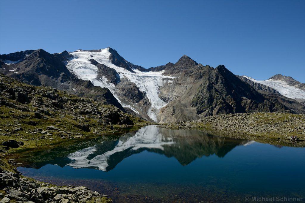 Bergsee mit Wildem Freiger