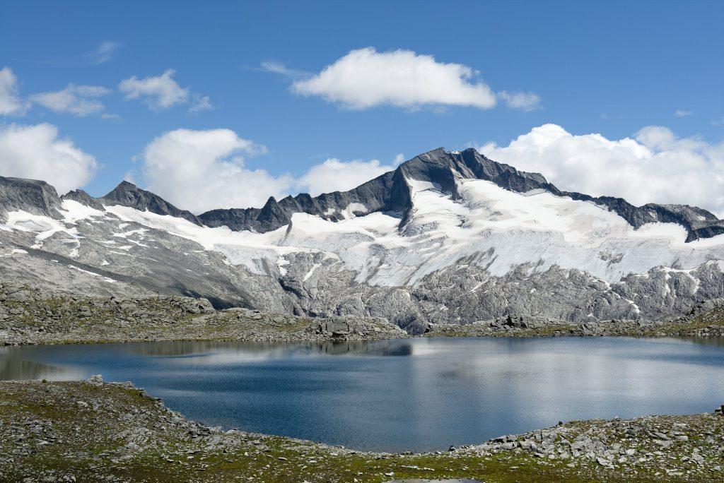 Oberer Schwarzhornsee mit Hochalmspitze