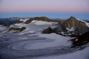 Sonklarspitze mit Übeltalferner gesehen vom Wilden Freiger