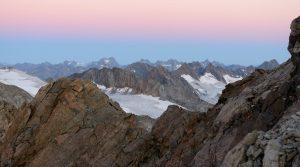 Stubaier Alpen und Kaunergrat gesehen vom Wilden Freiger