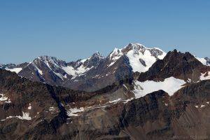 Wildspitze mit Rofenkarferner gesehen vom Hinteren Seelenkogel