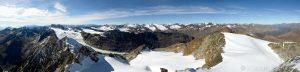 Ötztaler Alpen und Seelenferner gesehen vom Hinteren Seelenkogel