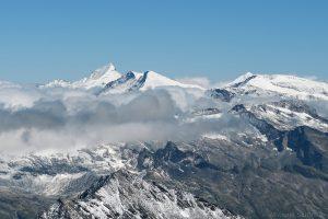 Großes Wiesbachhorn gesehen von der Kristallwand