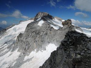 Blick zur Hochalmspitze vom Zsigmondykopf