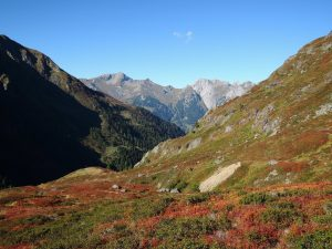 Abstieg Edmund-Graf-Hütte