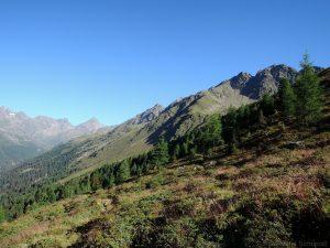 Aufstieg Wangenitzsee