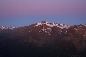 Wildspitze vor Sonnenaufgang