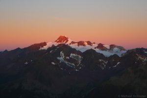Wildspitze bei Sonnenaufgang