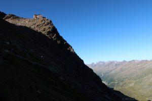 Abstieg Ramolhaus