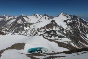 Bergsee bei der Fineilspitze