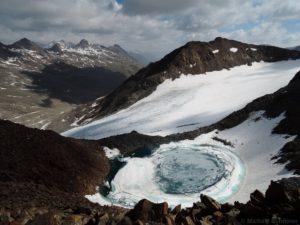 Bergsee beim Kleinen Similaun