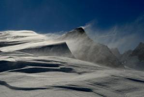 Sturm am Berg