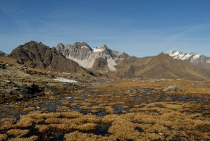 Blick Richtung Schwarzseespitze und Botzer