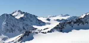 Ruderhofspitze, Wilder Pfaff und Zuckerhütl