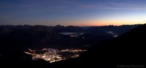 Telfs bei Nacht