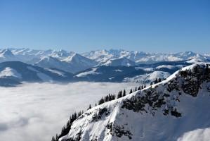 Hochnebel Kitzbüheler Alpen
