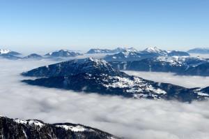 Hochnebel Kaisergebirge