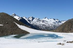 Bergsee Ötztaler Alpen