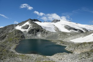 Oberer Schwarzhornsee, Ankogel