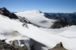 Weißseespitze mit Gepatschferner