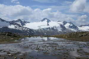 Bergsee vor Fineilspitze