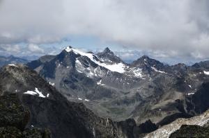 Breiter Grießkogel, Strahlkogel und Larstigspitze
