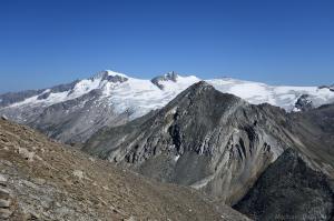Großvenediger, Rainerhorn, Zopetspitze, Schwarze Wand und Hoher Zaun