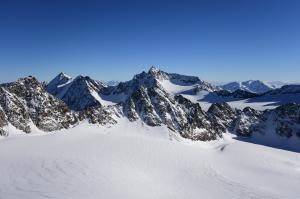 Ruderhofspitze, Alpeiner Ferner, Schwarzenbergferner