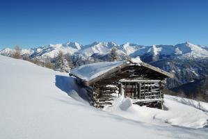 Heustadl im Obernbergtal