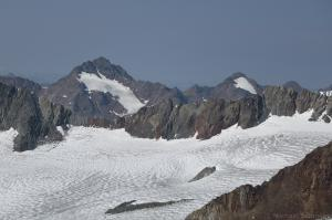 Bliggspitze, Eiskastenspitze und Gr. Vernagtferner