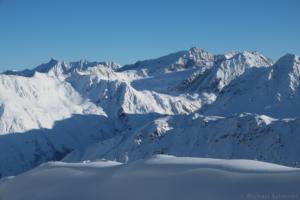 Innere Schwarze Schneide und Linker Fernerkogel