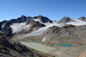 Gletschersee mit Ebenferner, Aufstieg Wilder Freiger