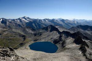 Eissee gesehen von der Zillerplattenspitze