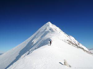 Hochfeiler Gipfelaufbau