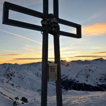 Sonnenaufgangs-Skitour Pfoner Kreuzjöchl