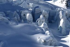 Gletscher am Piz Palü