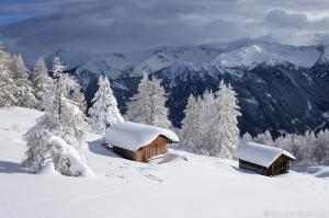 Obernbergtal im Winter Winter