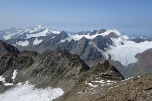 Weißkugel, Fluchtkogel und Weißseespitze